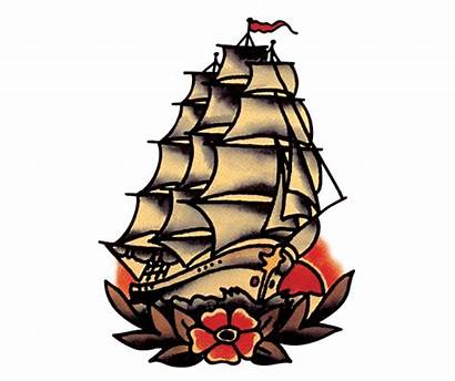 Sailor Jerry Tattoo Tattoos Traditional Flash Ship