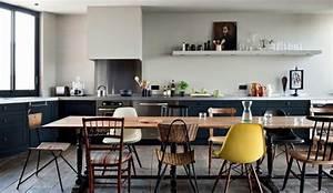 Chaises design 20 modeles de chaises depareillees et for Deco cuisine avec chaise de salon design