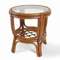 rattan end tables Boca Rattan 3002 Delta Side Table | ATG Stores
