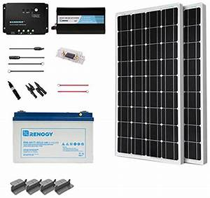 Camper Van Solar Panels  U0026 Electrical System  With Wiring Diagram