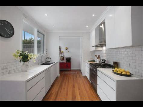 Modern White Galley Kitchen Kitchen Love Pinterest Amazing