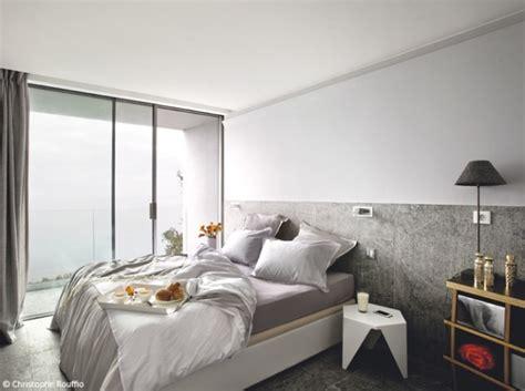 d 233 coration chambre avec mur gris exemples d am 233 nagements