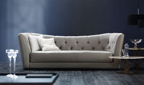 furniture sofa with tufted back butterfly angelo cappellini Modern