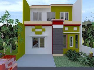 desain gambar taman rumah minimalis cantik  sejuk