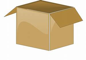 Cardboard Box Open Package  U00b7 Free Vector Graphic On Pixabay