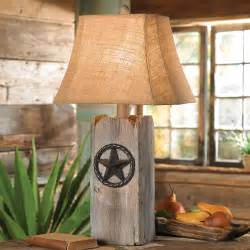 rustic star table lamp With rustic star floor lamp