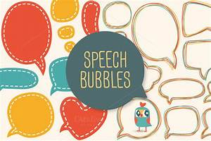 words speech bubbles photobooth props template With photo booth speech bubble template