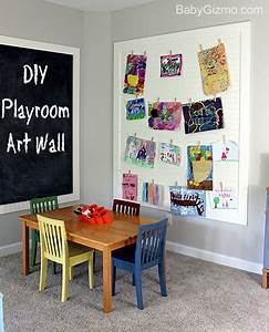 Diy playroom art wall baby gizmo