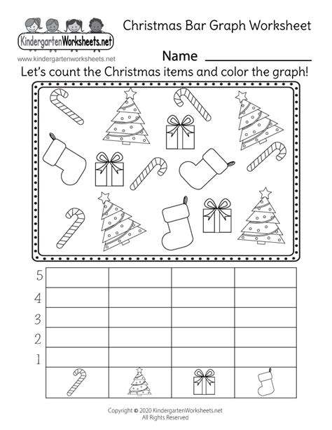 bar graph kindergarten worksheet  table bar chart