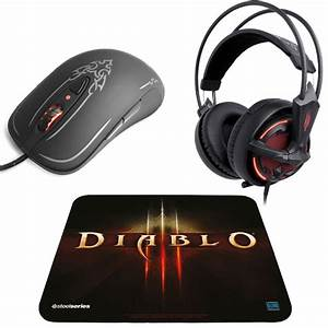 steelseries diablo iii gaming pack souris gamer With tapis de souris pour souris laser