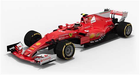 F1 Model Cars by Sf70h Formula 1 3d Model автомобили Model