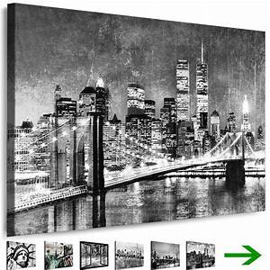 Schwarz Weiß Wandbilder : leinwand bilder new york city wandbilder schwarz wei gerahmte kunstdrucke xxl ebay ~ Watch28wear.com Haus und Dekorationen