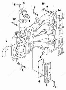Johnson 2003 140 - J140cx4sts  Intake Manifold