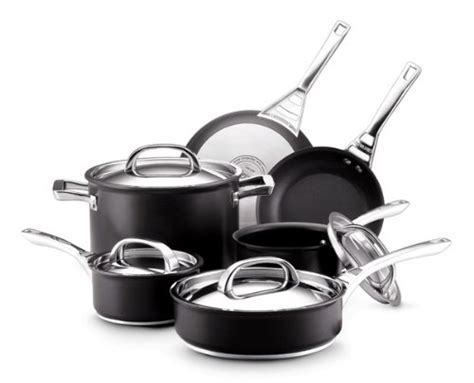 pans glass stoves circulon infinite anodized hard cookware