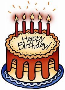 Happy Birthday Chocolate Cake For Friend | Clipart Panda ...