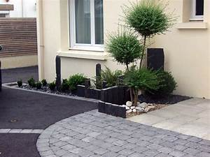 paysagiste auray vannes pluvigner cloture barriere With amenagement terrasse et jardin photo