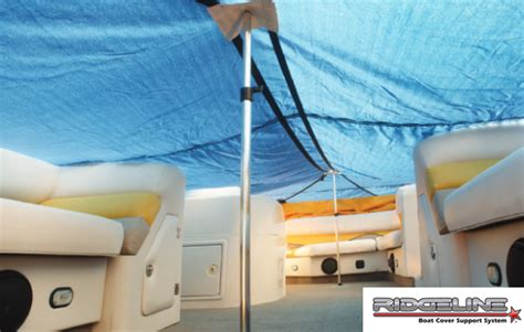 Boat Cover Tower Support by Pontoon Cover Supports National Boat Covers