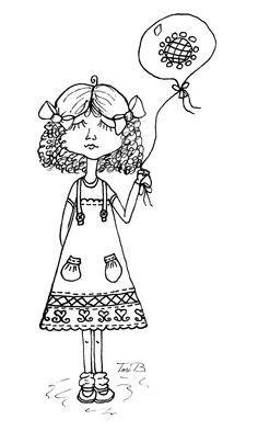 Cuddlebug Cuties: Angel | Cool coloring pages, Art kit
