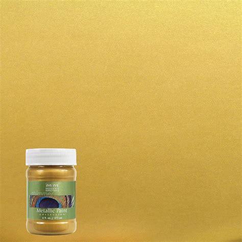Modern Masters 6 oz. Rich Gold Metallic Interior/Exterior