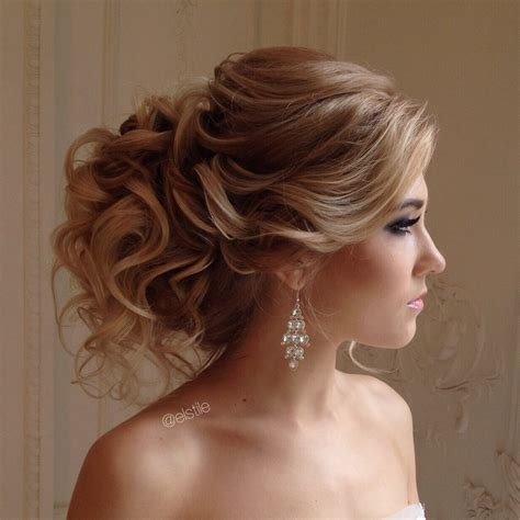 up style for hair lovely bridal look make up hairstyles web www elstile ru