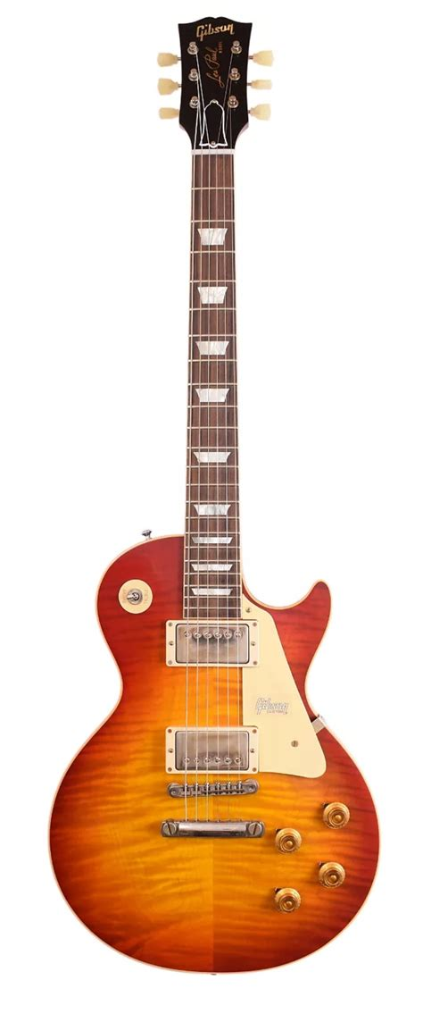 gibson custom shop  les paul standard washed cherry