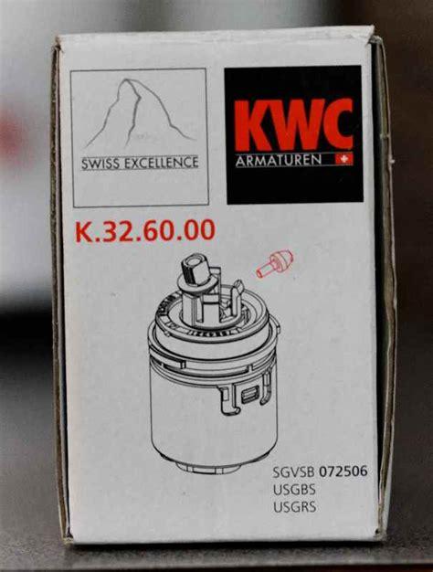 replace  cartridge   kwc domo faucet