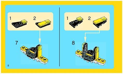 Lego Mini Skyflyer Instructions 31001, Creator