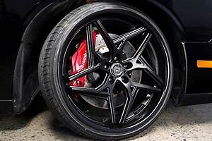 20 U0026quot  Staggered Lexani Wheels Spyder Satin Black With Gloss