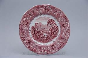 Wedgwood Porzellan Alte Serien : kuchenteller d 20 cm enoch wedgwood river scenes red rot ebay ~ Orissabook.com Haus und Dekorationen