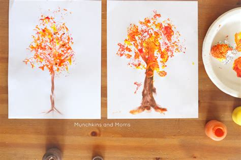 foil printed fall tree munchkins and 893 | trees 1