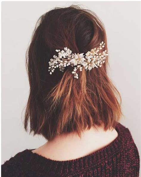 25+ Cute And Easy Hairstyles For Short Hair Short