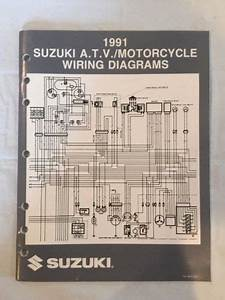 Buy 1991 Suzuki Atv  Motorcycle M Model Wiring Diagrams
