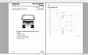 Volvo Fl12 Trucks Service Manual Buses  U0026 Wiring Diagrams