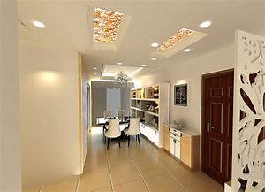 Small dining room ceiling lights and cabinets