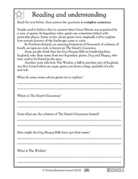 Free printable 3rd grade reading Worksheets, word lists