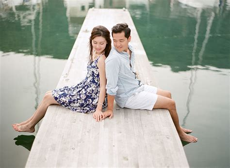 hong kong engagement   beach hong kong wedding blog