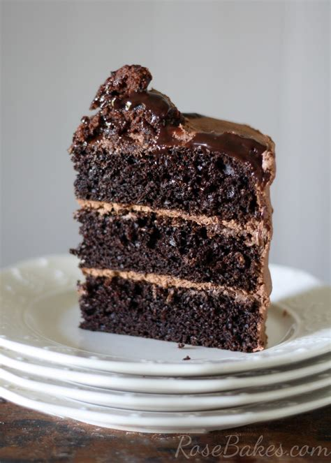 how to make a moist cake from scratch one bowl chocolate cake from scratch rose bakes