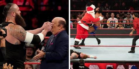 wwe raw results december   latest monday night