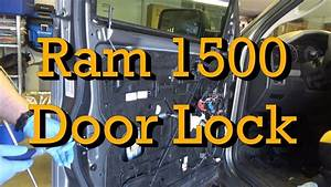 2012 Ram 1500 Door Lock Actuator  Latch Diagnosis And