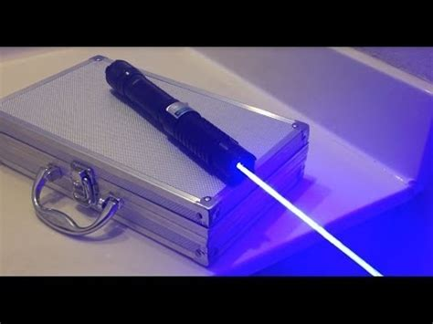 fasttech  blue laser review youtube