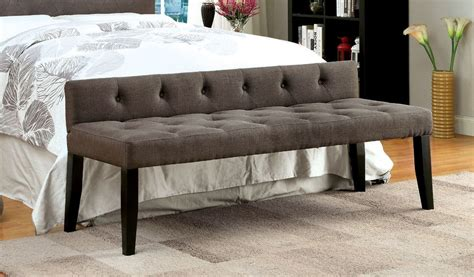 upholstered bedroom bench contemporary style