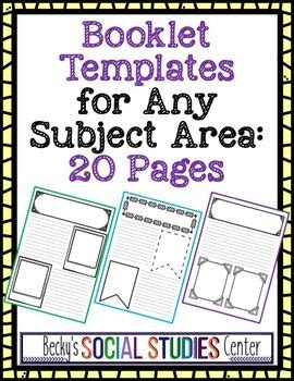 book templates   subject area  images