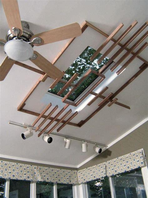 build  wooden skylight screen hgtv
