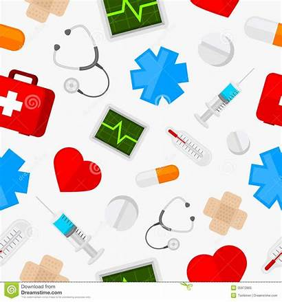 Medical Clipart Tools Pattern Icons Doctors Equipment