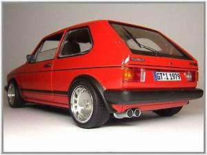Golf 1 Turbo : volkswagen golf 1 gti miniature rouge jantes 15 pouces ~ Kayakingforconservation.com Haus und Dekorationen