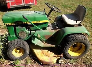 John Deere 112 Lawn Mower For Parts