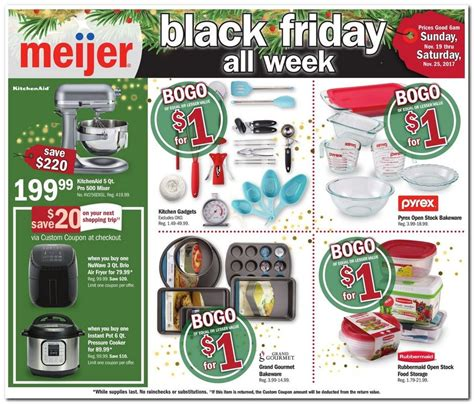 nuwave fryer air ads friday meijer