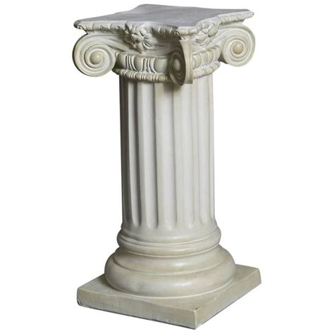 Column Pedestal by Style Plaster Pedestal Or Column With Chapiteau In