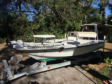 Used Flats Boats For Sale In Fl by 2000 Used Flats And Bay 18x8 Flats Fishing Boat For Sale