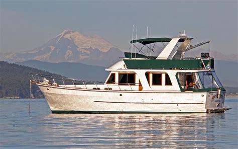 chb europa trawler power boat  sale www